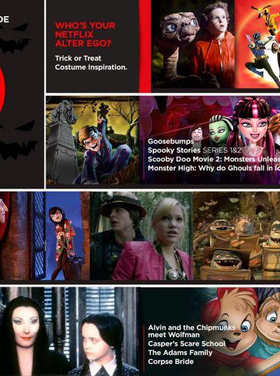 Netflix Halloween Stream & Scream Guide