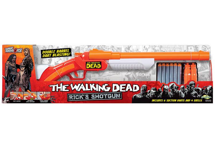 Alex Brands Air Warriors The Walking Dead Carl's Revolver Zombie Blaster