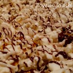 Make a Delicious, No Guilt, Chocolate Drizzled Popcorn Treat in under 8 Minutes