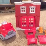 "Every Future Fire Fighter Needs this Red and ""Green"" Fire Station"