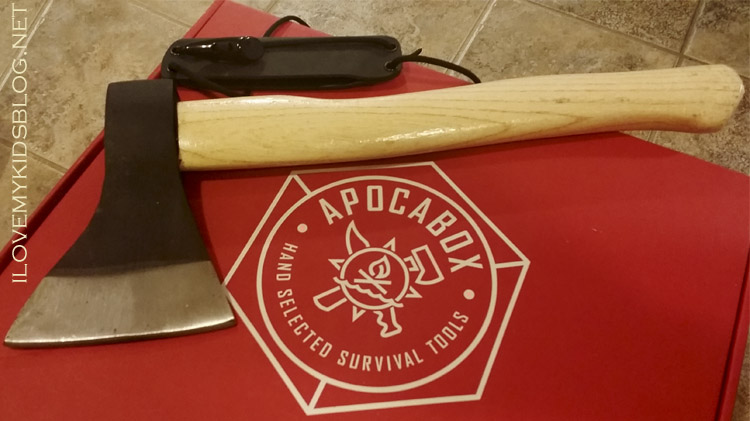 Apocabox December 2016 Russian Style Trapper Axe