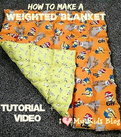 How To Make A Weighted Blanket A Diy Video Tutorial To Do At Home