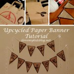 DIY Upcycled Paper Banner Tutorial