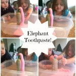 How to make your very own Elephant Toothpaste [Activity Sticks Activity]
