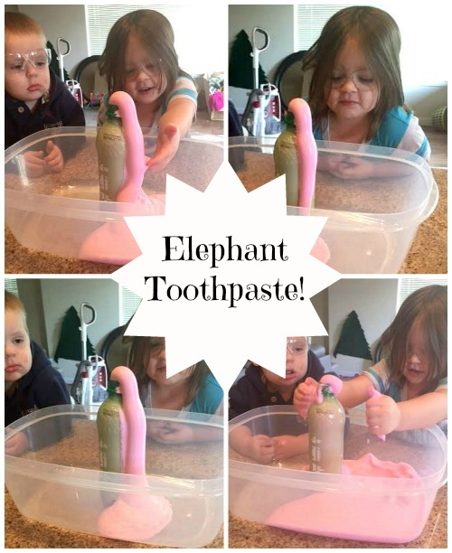Elephant Toothpaste Pink