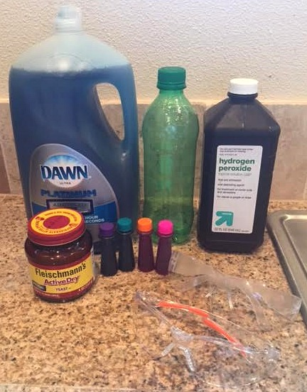 How to make your very own Elephant Toothpaste (Science