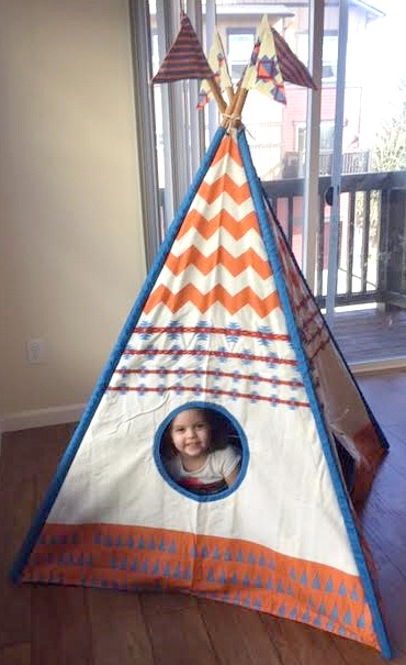 Teepee Window