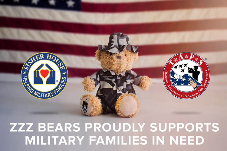 zzzbears proudly supports military families in need