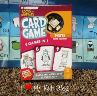 Basher Science card game