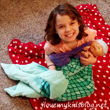 ce8acf2652 Fin Fun Bikini Blanket for Dolls plus the Bikini Cuddle Tail make the  perfect duo
