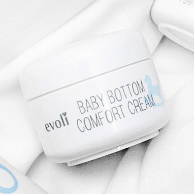 evoli baby bottom comfort cream