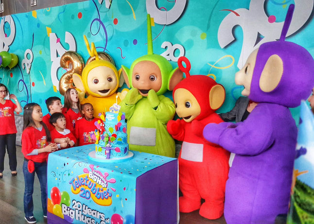 teletubbies to celebrate their 20th Anniversary