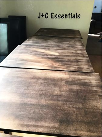 redo your table ready for stain