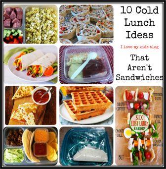 10 Cold Lunch Ideas That Aren't Sandwiches!