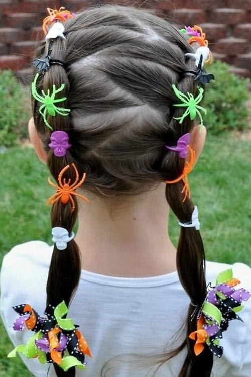 8 Fun Unique Halloween Hairstyle Ideas For Kids
