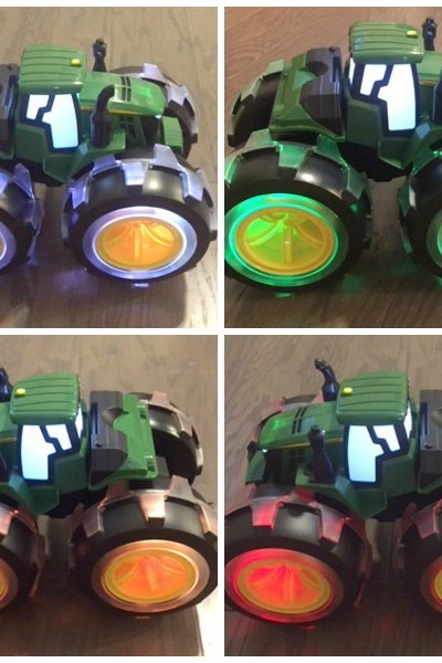 John Deere Lightning Wheels is the perfect Gift for any Tractor Loving Boy or Girl