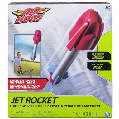 2017 Holiday Gift Guide for Children 5 to 7 - Air Hogs Jet Rocket