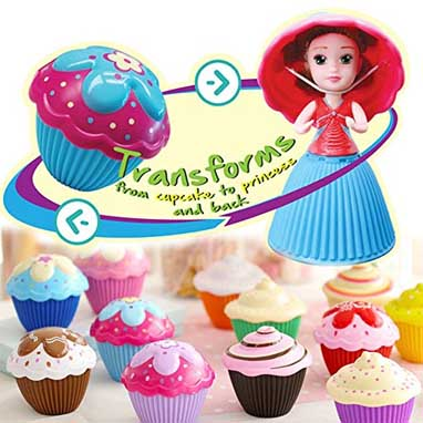 2017 Holiday Gift Guide for Children 5 to 7 - cupcake surprise dolls