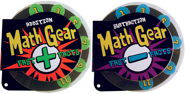 2017 Holiday Gift Guide for Children 5 to 7 - math gear fast facts