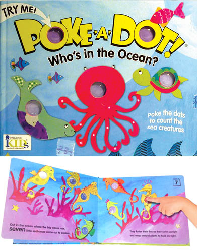 2017 Pre-K Holiday Gift Guide Poke-a-dot books
