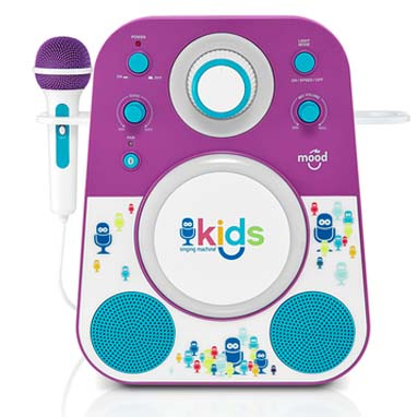 2017 Pre-K Holiday Gift Guide Singing Machine MOOD