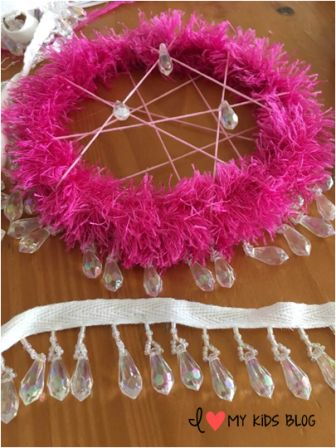 DIY Unicorn Dream Catcher Craft 5