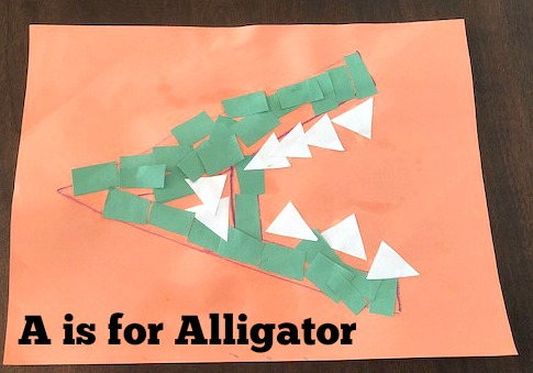 A is for Alligator: Preschool Activities for the Letter A