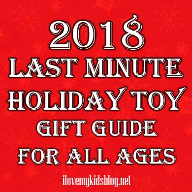 Last Minute Holiday Toy Gift-Guide for All Ages