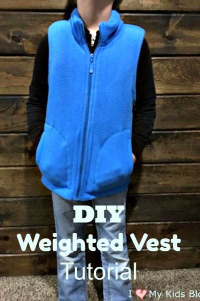 How To Make Your Own Sensory Weighted Vest