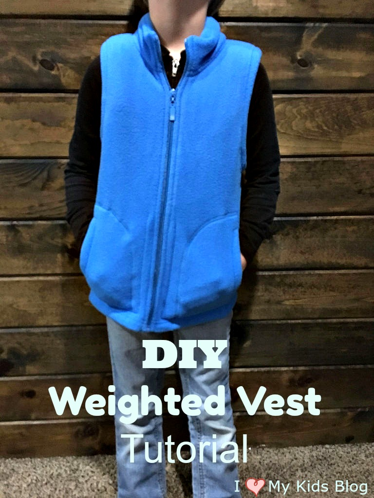 How to make a DIY Weighted Vest Tutorial