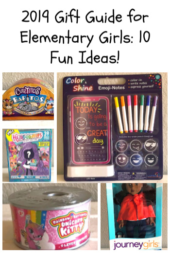 2019 Gift Guide for Elementary Girls: 10 Fun Ideas!