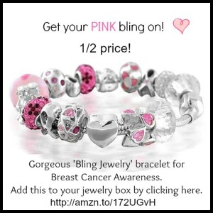 Get your PINK bling on.