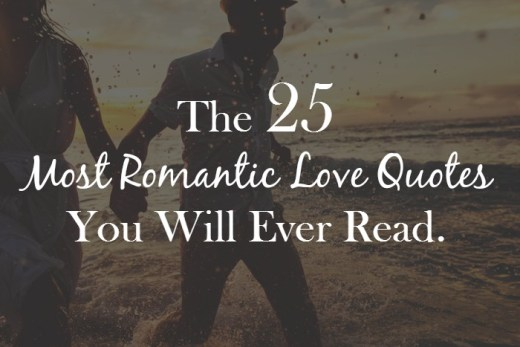 the 25 most romantic love quotes