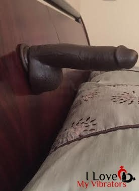 mr marcus suction cup dildo on headboard