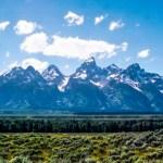 Grand Teton NP jagged peaks