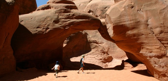 Arches NP Sand Dune Arch