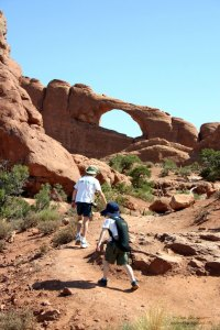 Arches NP Skyline Arch