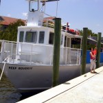 Biscayne NP tour boat