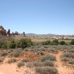 Canyonlands NP view of Chesler Park