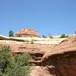Canyonlands NP Elephant Canyon hikers
