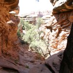 Canyonlands NP slot canyon