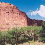 Capitol Reef NP formation