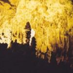 Carlsbad Caverns NP strange landscape