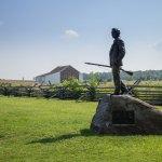 Gettysburg NMP Burns statue