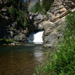 Glacier NP Running Eagle Falls