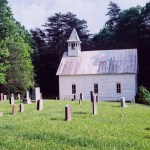 Great Smoky Mountains NP Cades Cove church