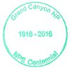 NP Stamp - Grand Canyon NPS Centennial