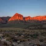 Red Rock Canyon NCA escarpment
