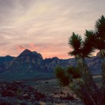 Red Rock Canyon NCA sunset