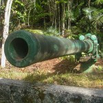 War in the Pacific NHP Piti Guns